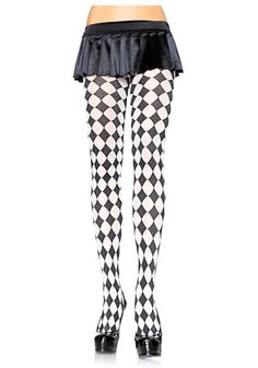 Chessboard tights