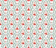 Nutcracker Ballerinas - by Andrea Lauren  fabric by andrea_lauren on Spoonflower - custom fabric