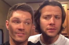 [WATCH] 'Supernatural' Stars Jared and Jensen Switch Faces to Give an Important Message