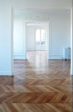 15 - The author of one of my favorite blogs is installing new hardwood floors in her home (gorgeous!).  Follow her lead and create a LO that uses both wood paper or elements AND chevrons.  - 2 pts.