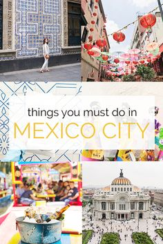 You have to visit Mexico City! there is so much to see and do.