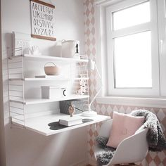 We fall in love every time we find a room that makes us dream. This is one of those cases. This girl's bedroom designedby_betina Instagram is full of creativity, style and trendy details.Soft tones, Nordic design, comfortable spaces…it has everything to get a wonderful result where harmony is a common factor which wraps the whole …