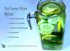 Flat Tummy Water is one of the healthy drinks that is becoming more popular among people who want to lose weight naturally. Healthy Recipes For Weight Loss, Healthy Breakfast Recipes, Healthy Drinks, Healthy Tips, Healthy Weight, Healthy Foods, Flat Tummy Water, Flat Stomach, Detox Drink Before Bed