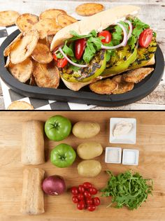 A po' boy is a classic Loo-zee-anna sandwich of fried seafood on a crusty…
