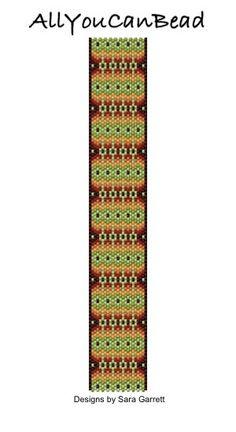 #AllYouCanBead #peyote #stitch #bracelet #pattern #tutorial #bead #beading #weaving #beadweaving #handmade #miyuki #delica #seed #brick #loom