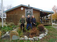 Jack Casady, Jorma Kaukonen and G.E. Smith at Fur Peace Ranch in Pomeroy, Ohio. (Photo: Jim Clash)