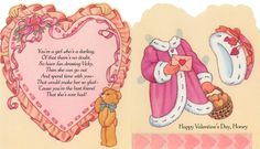 VALENTINE FUN FOR YOU DAUGHTER, A Vicky Paper Doll | American Greetings 135V 2308-1H   by Karen Reilly | 2 of 2