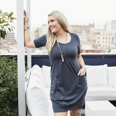 Miracle dress - dark grey