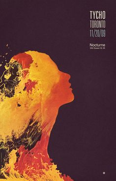 Tycho poster, by Scott Hansen (ISO50)