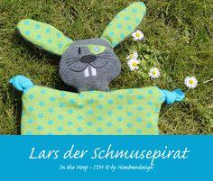 Lars der Schmusepirat - Schmusetuch - ITH 10 x 10