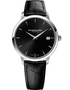 Shop for Raymond Weil Men's Toccata Leather Watch. Get free delivery On EVERYTHING* Overstock - Your Online Watches Store! Gents Watches, Cool Watches, Watches For Men, Swiss Luxury Watches, Raymond Weil, Mens Watches Leather, Chopard, Online Watch Store, Stainless Steel Watch