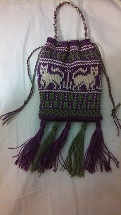 Ravelry: Project Gallery for Medieval Pouch charts pattern by Wendi Dunlap