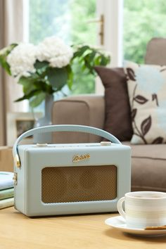 Duck egg Roberts Radio a must in a beautiful home