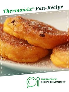 Recipe South African pumpkin fritters by thermomike, learn to make this recipe easily in your kitchen machine and discover other Thermomix recipes in Desserts & sweets. Sweets Recipes, Baking Recipes, Vegan Recipes, Vegan Food, Desserts, Pumpkin Fritters, Fishcakes, South African Recipes, Food N