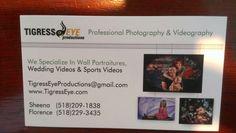 Got new business cards!