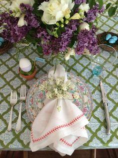 Church Street Easter table
