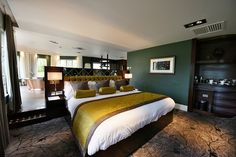 Premier Suite bedroom at Ramside Hall Hotel, Durham