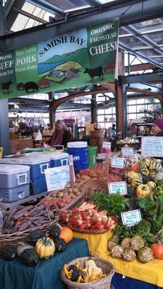 Saturday is market day at Bellingham Farmers Market in Washington 10am - 3pm http://www.farmersmarketonline.com/fm/BellinghamFarmersMarket.html