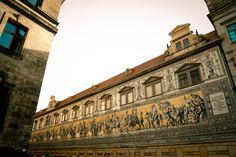 Auf einen Blick: Fürstenzug in #Dresden