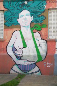 #StreetArt #UrbanArt - Emy Mariani& Lean Frizzera