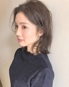 石原さとみさんもイメチェン♡可愛く見せたいならロブに決まり! in 2019 Ash Brown Hair, Medium Brown Hair, Brown Hair Colors, Short Hair With Layers, Short Hair Cuts, Japanese Hair Color, Medium Hair Styles, Short Hair Styles, Girls Short Haircuts