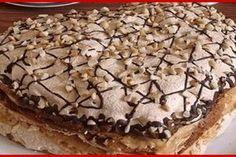 "Desertul care a cucerit milioane de oameni - tortul ""Pani Walewska""! - Bucatarul Focaccia Bread Recipe, Good Food, Yummy Food, Romanian Food, Something Sweet, Desert Recipes, Cake Cookies, Pavlova, Food To Make"