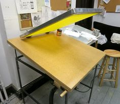 DIY Vacuum Screen Printing Table - Mike Harpring