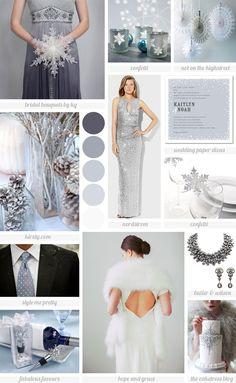winter wonderland wedding | Inspiration Board: Winter Wonderland Wedding | little love notes