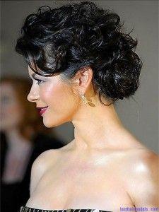 Curly Frisuren Hochsteckfrisuren