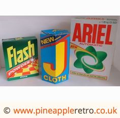 Old, cool or both? http://labelszoo.co.uk can help with any labeling requirements you have Cleaning early 80's style. Still more powders..