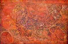 Sonia Kurarra, Martuwarra #74-12 Acrylic on canvas 120 x 180cm. Aboriginal & Pacific Art, Sydney.