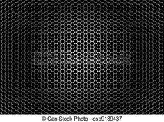 Vectors Illustration of Closeup speaker grille texture - detaled ...