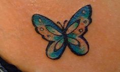 Small Butterfly Tattoos On Shoulder | 30 Adorable Small Tattoos For Girls | CreativeFan