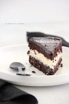 layer cake au chocolat & à la guinness