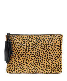 cheetah print clutch