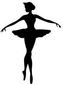 I love ballet and I am a ballerina Ballerina Silhouette, Silhouette Cameo, Ballet Art, Wall Decal Sticker, Art Plastique, Portrait, Paper Cutting, Silhouettes, Paper Art
