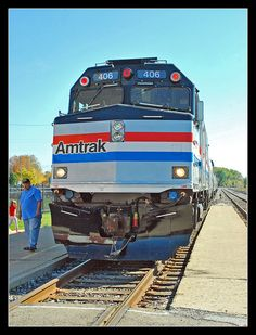 COMPLETED- Amtrak's train- March 2011 From Chicago to St Louis. Daddy drove the Amtrak !