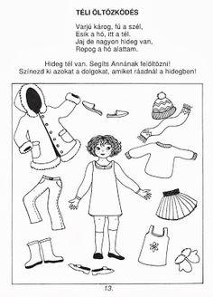 Picasa Webalbumok File Folder Games, Projects For Kids, Preschool Activities, Paper Dolls, Coloring Pages, Kindergarten, Album, Comics, Children