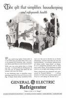 GE Electric Refrigerator 1928 Ad Picture