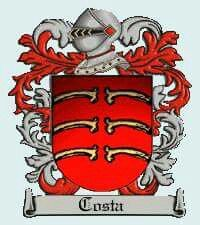 Brasão da Família Costa Medieval, Family Shield, Costa, Family Crest, Coat Of Arms, Tigger, Disney Characters, Fictional Characters, History