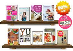 WOW! 90% off healthy #vegan meal plans, cookbooks, courses & more! #glutenfree #raw options Vegan Cuts Digital Bundle - Save 90%! on Healthy Meal Plans, Cookbooks & Online Courses