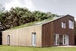 Arcgency's Green-Roofed WFH House is Made From Three Recycled Shipping Containers