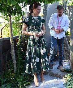 Kate Middleton wore a stunning floral dress to the Chelsea Flower Show and it sold out immediately because, of course.