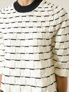 3.1 Phillip Lim ウーブンスクエア セーター