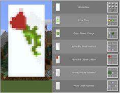 Minecraft Banner Crafting, Cool Banner Designs Minecraft, Minecraft Banner Patterns, Minecraft 9, Amazing Minecraft, Minecraft Decorations, Minecraft Construction, Minecraft Tutorial, Minecraft Blueprints