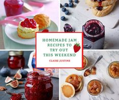 Homemade Jam Recipes To Try Out This Weekend. Hello friends. Happy Friday.I love jam on my morning toast and just lately I have been gathe