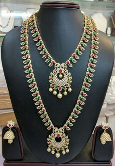 To order plz WhatsApp me to 91 7730891805 Gold Jewelry, Cz Jewellery, Jewels, Diamond, Shops, Necklaces, Shopping, Beautiful, Fashion