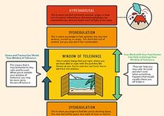 How to Help Your Clients Understand Their Window of Tolerance [Infographic] - NICABM Limbic System, Brain Science, Positive Vibes Only, School Counseling, Trauma, Therapy, Positivity, Windows, Infographics
