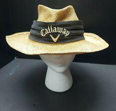 Biltmore Callaway Golf Men's Straw Hat L/XL Big Bertha  #Callaway #StrawHat