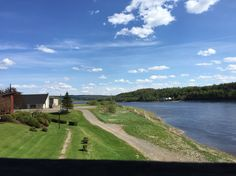View from the Covered Bridge in Hartland, New Brunswick!